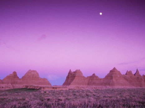 Dusk in the Badlands