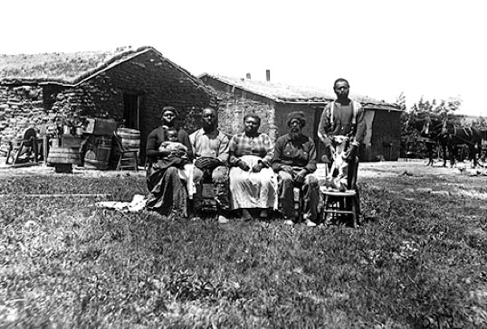 The Jerry Shores Family – Nebraska 1887