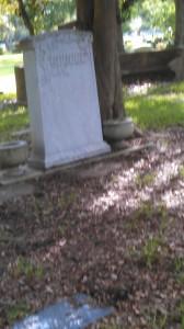 Captain Edwin Goudge Headstone - Galveston Memorial Park